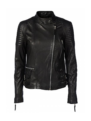 Munderingskompagniet City Biker Leather Jacket K-PM109-017-Black
