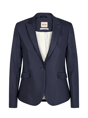 Mos Mosh Blazer - Blake Night Sustainable Blå 112579-469
