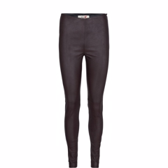 Mos Mosh skindleggins - Lucille Stretch Leather Leggings Coffee Bean