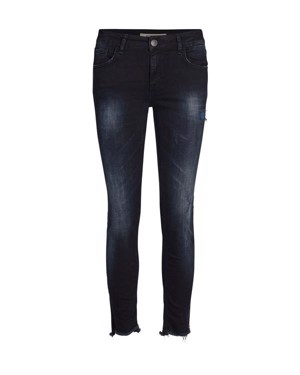 Mos Mosh Sumner Slit Step Jeans Blue Denim