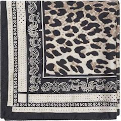 Notes du Nord Game Leopard Scarf
