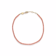 Anni Lu Wave Anklet Seashell Pink