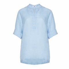 Tiffany 17661 hørbluse Light Blue