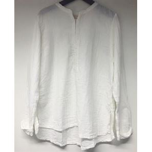 Rabens Saloner Double Layer top white