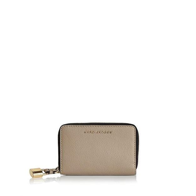 Marc Jacobs Marc Jacobs The Grind Compact Wallet Light Slate