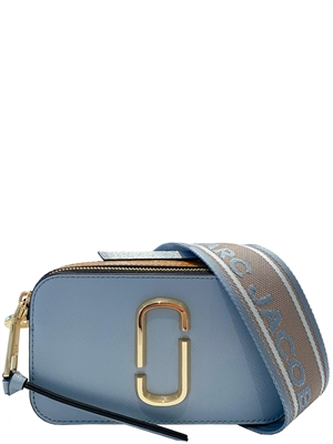 Marc Jacobs The Snapshot Taske, Skyline Blue Multi
