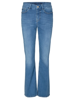Alli Lift Flare Jeans Light Blue, Mos Mosh 137350