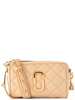 The Quilted Softshot 21 Beige - Marc Jacobs