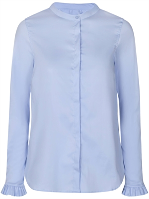 Mattie Sustainable Skjorte, Light Blue