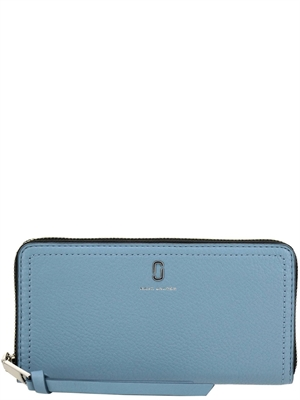 The Marc Jacobs Softshot Standard Continental Wallet, Misty Blue