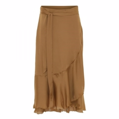 Karmamia Ruffle Wrap Skirt Short 90038