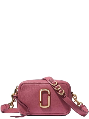 Marc Jacobs The Softshot 17 Taske, Dusty Ruby