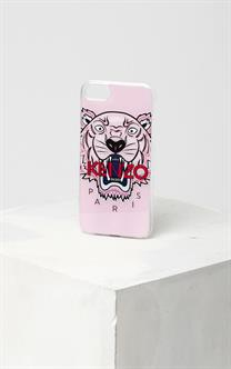 Kenzo 3D Tiger iPhone 7+ og 8+ Cover Faded Pink/Red