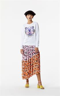 Kenzo Embroidered Tiger Sweatshirt White