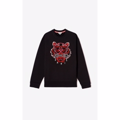 Kenzo Sweat Tiger Black