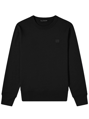 Fairview Face Sweatshirt Sort - Acne Studios