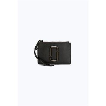 Marc Jacobs Top Zip Multi Wallet Black
