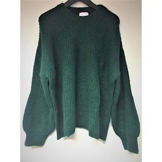 Lala Berlin Jumper Jule Bottle Green Melange