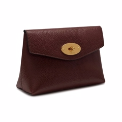 Mulberry Darley Cosmetic P Grain Veg Tanned Oxblood RL5018-346K195