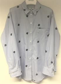 Kenzo Casual Fit Shirt Sky Blue