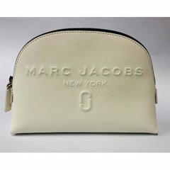 Marc Jacobs Dome Cosmetic Clutch Hvid