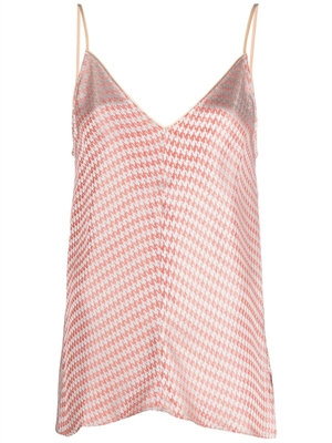 Forte Forte Houndstooth Jacquard Top, Love