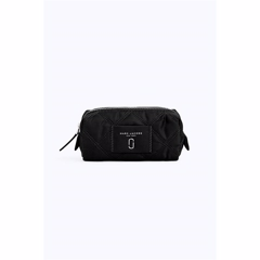Marc Jacobs Nylon Knot Narrow Cosmetic Pung Black/Gold