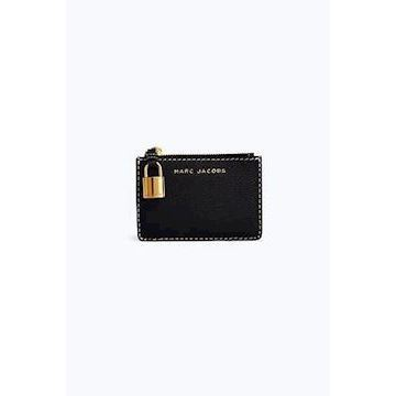 Marc Jacobs The Grind Top Zip Multi Wallet Black