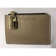 Marc Jacobs The Grind Top Zip Multi Wallet Light Slade