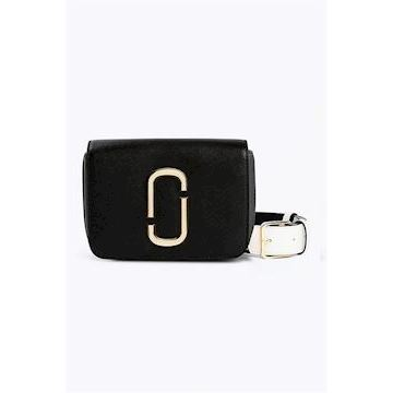 Marc Jacobs The Logo Strap Hip Shot Black Multi