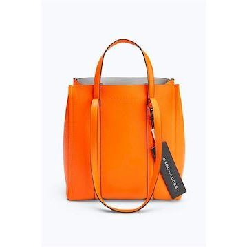Marc Jacobs The Tag Tote 27 Bright Orange