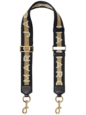 Marc Jacobs The Webbing Strap, Gold/Multi