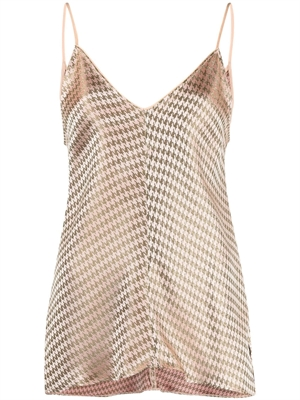Houndstooth Jacquard Top, The