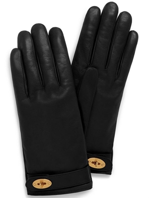 Darley Handsker, Black Smooth Nappa Mulberry