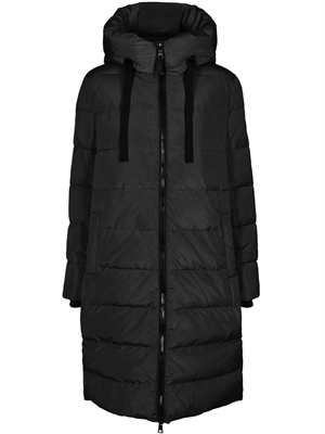 Nova Down Coat, Black Mos Mosh