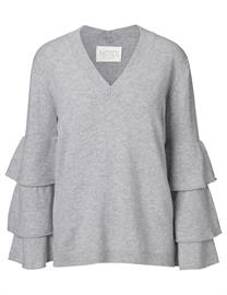 Notes Du Nord - Florence Cashmere Ruffle Blouse