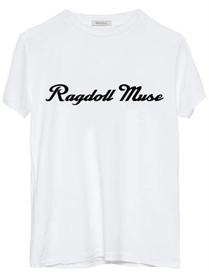 Ragdoll La Easy Vintage T-shirt, Optic White