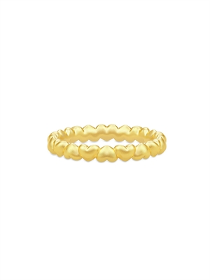 Julie Sandlau Ring - Love Gold RI288GD