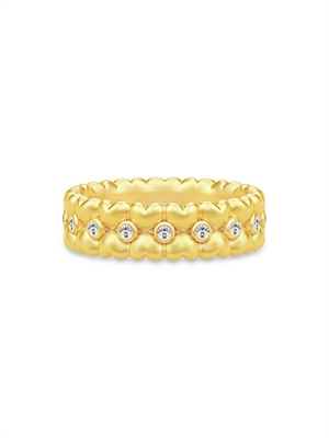 Julie Sandlau Ring - True Love Guld RI290GDCZ