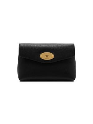 Mulberry Large Darley Cosmetic Pouch Black Small Classic Grain RL5078/205A100