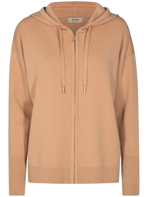 Mos Mosh Robyn Hooded Knit Cardigan, Cuban Sand