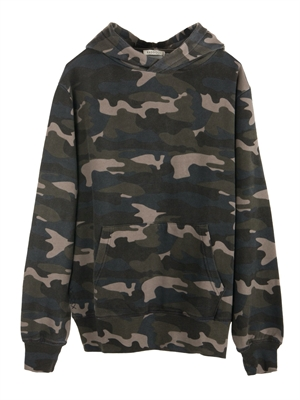 Oversized Hoodie, Camo Army