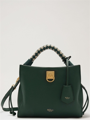 Mulberry Small Iris Green Heavy Grain