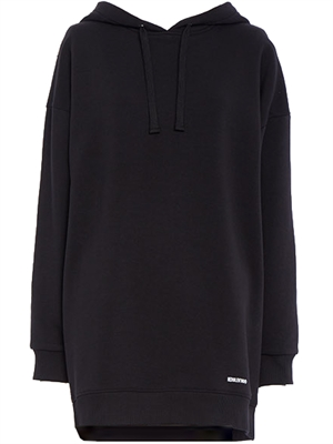 REDValentino Lace Back Sweatshirt, Sort