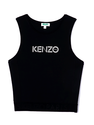 Kenzo Top - Logo Sort F962TO834951