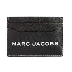 Marc Jacobs The Textured Tag Card Case Black M0014871-001
