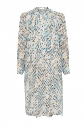 Lala Berlin Kufiya Snake Blue Dress - 1196-WO-2020