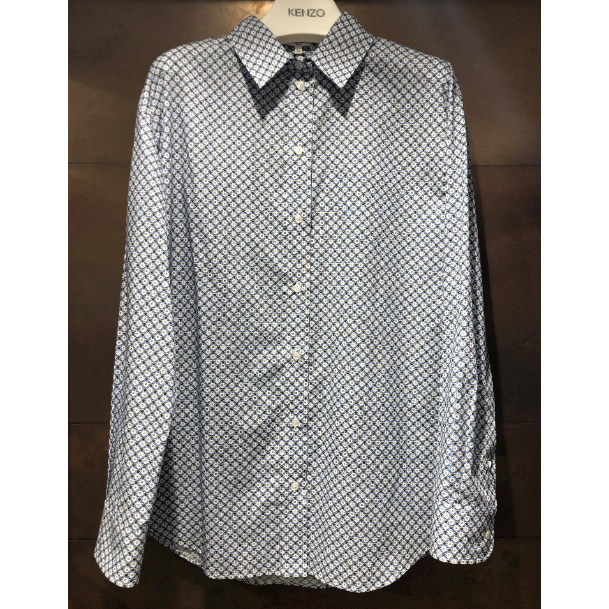 Kenzo Casual Fit Shirt White Mix - 2CH18759G01