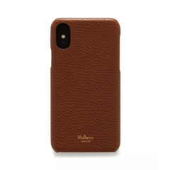 Mulberry iPhone X/XS Cover Oak Natural Grain Leather RL5471-346G110