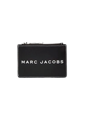 Marc Jacobs The Tag Top Zip Multi Wallet Black M0014870-001